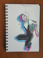 Day 96 Spider Gwen by TomatoStyles