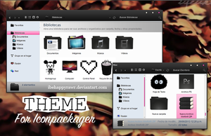 Theme Iconpackager BHR by iBeHappyRawr