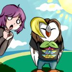Holly And Arin Birb by ReBaka-Chan