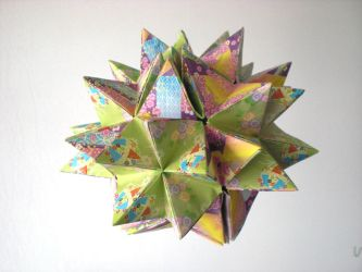 Origami by andy chanwanttodraw on deviantart andy chanwanttodraw 2 0 origami kusudama revealed flower openclose by andy chanwanttodraw mightylinksfo
