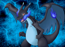 Mega Charizard X by GreenSimon