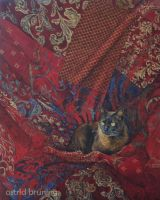 His Majesty - Oil Painting by AstridBruning