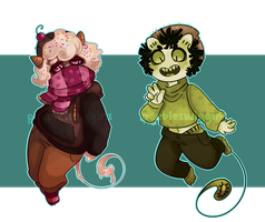 Lil Demons  - [Paypal/Points] - [closed] by pw-adopts