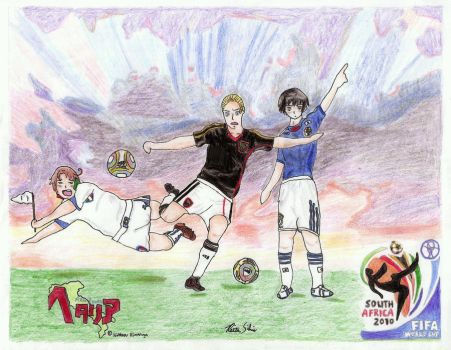 The Axis of World Cup Soccer by DolphinGoddess92