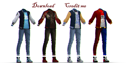 MMD: outfit dl by KlaidAstoria
