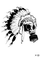 GasMask (chieftain) by e1-since1987