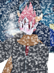 Tom In Snow by Animerican98