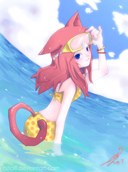 At the Beach by Coffeshere