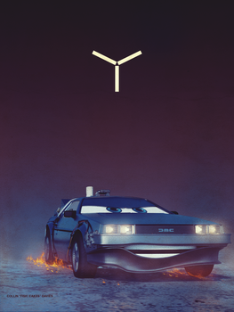 A DeLorean by TheFishCakes