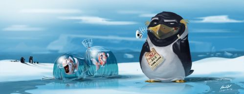 smart penguin by ReevolveR