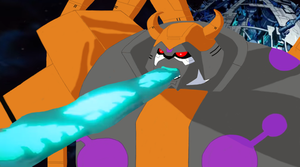 Unicron attacks the Autobots by du365