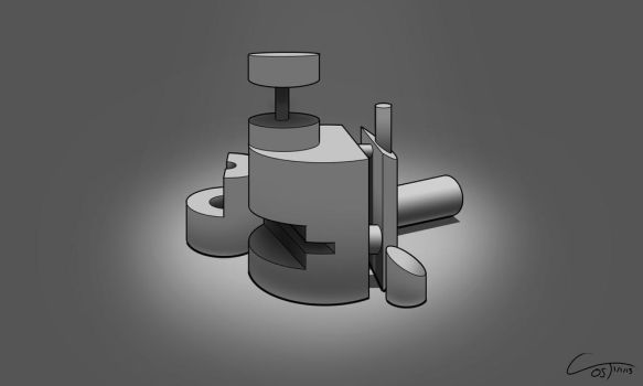 D35 - Perspective Cylinders Rendered by ComplxDesign