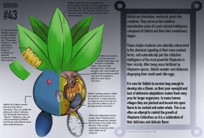 Oddish Anatomy- Pokedex Entry by Christopher-Stoll
