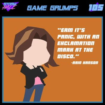 Game Grumps - Arin Hanson by Stormhale