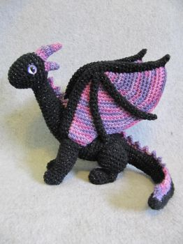 Rosa the Dragon by NerdyKnitterDesigns