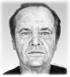 Jack Nicholson by BasseBlues