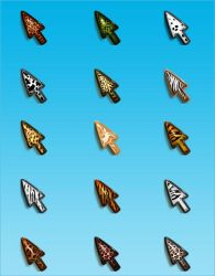 Animal cursors by Spinnetje