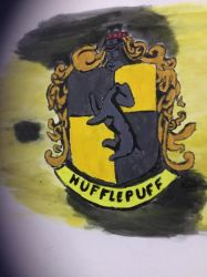 Hufflepuff Crest by KatieMystery