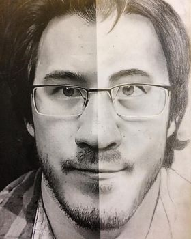 Markiplier photo study  by Honeycomb1011