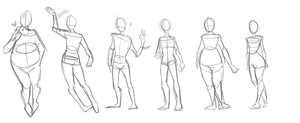 body type anatomy practice by Tofusv