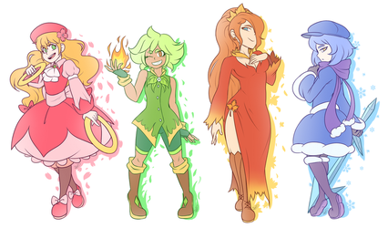 Masters of Four Seasons by Zieghost