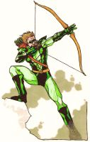 Stalk's Green Arrow by Grigori77