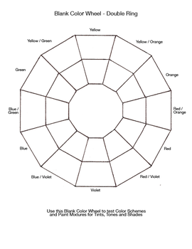 Writer Colorer 1 0 Blank Color Double Wheel By