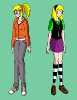 Gwen Stacy: Before and After by streetgals9000