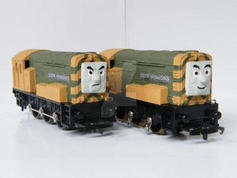 Iron 'Arry and Bert by TheThomasModeller