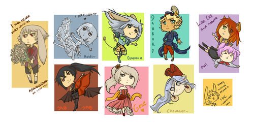 What is art, have chibis by Neye