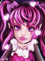 Draculaura Monster High by Kimyri