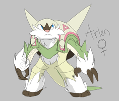 Arlen the Chestnaught by MBPanther