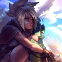 Lol - Riven the Exile by KNKL
