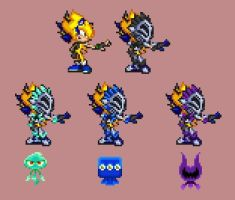 .:Mes - Knight Version:. by PixelPower23