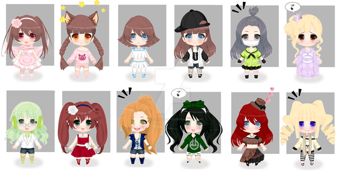 [Girls] FREE Adoptables CLOSED by MysteriousAdopts