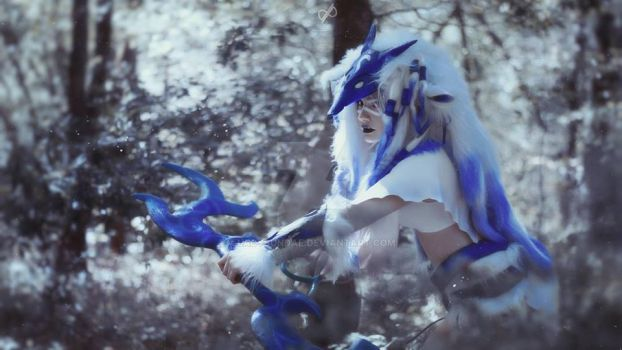 Kindred cosplay (Lamb) - League of Legends by LadySundae