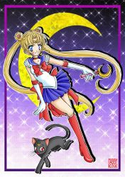 Sailor Moon by iamtabbychan