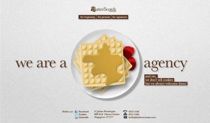 ButterScotch Revamp Homepage by armanique