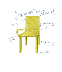 Golden Chair Award by melaphyre