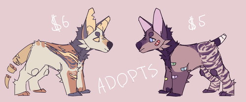 adopts! (sold) by korvis1408