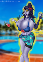 Buffed Widowmaker by Redocrab