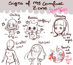 Signs of MY comfort zone : D by Daniela-Arts