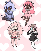 CHEAP | Pastel Kawaii Adopts | CLOSED by Nerdy-The-Robot