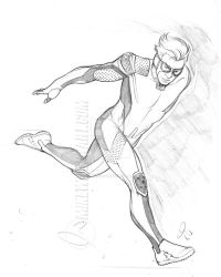 Quicksilver 001 Small by mikewilsonart