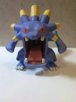 Exploud Papercraft by kyogre92