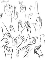 Hands Practise and ref by MissPinks