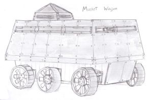 Musket Wagon by Imperator-Zor