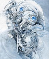 White wind by DalfaArt