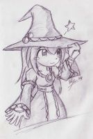 The Little Witch by foresteronly