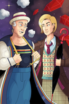 Doctor Who - 7th and 13th Doctors by OwenOak95